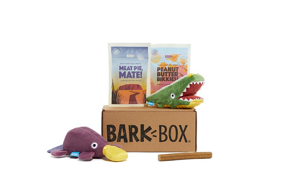 Australian Outbark themed BarkBox