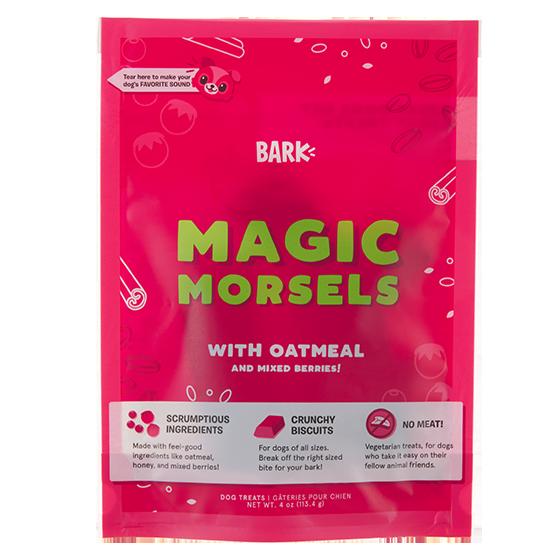 Photograph of BarkBox's Magic Morsels  product