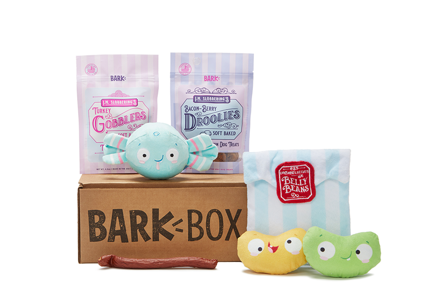 Candy Shoppe themed BarkBox