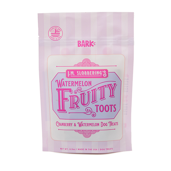 Photograph of BarkBox's Watermelon Fruity Toots product