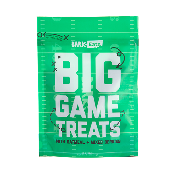 Photograph of BarkBox's Big Game Treats - Oatmeal and Berries product
