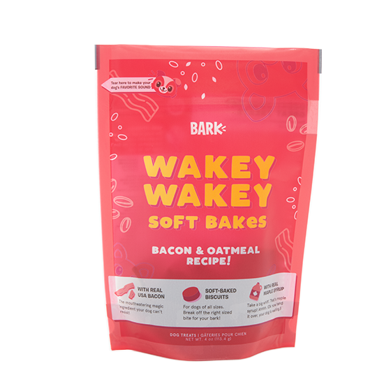 Photograph of BarkBox's Wakey Wakey Soft Bakes product