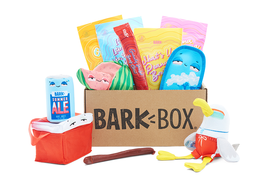 Dog Daze themed BarkBox