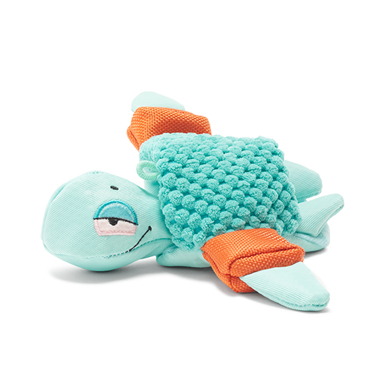 Photograph of BarkBox's Floaty Jody the Turtle product