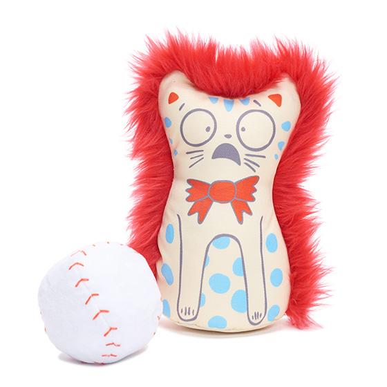 Photograph of BarkBox's Tippin' Kitten Knockdown product