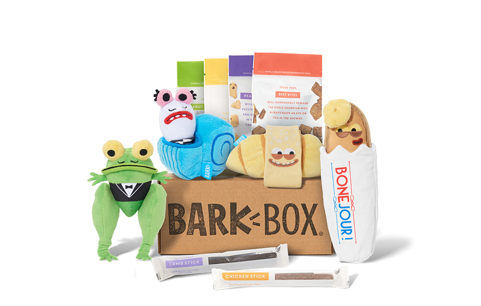 Frenchies in Paris themed BarkBox