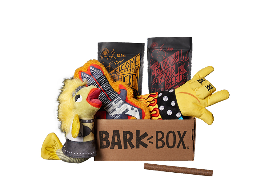 Hairy Metal BarkBox themed BarkBox