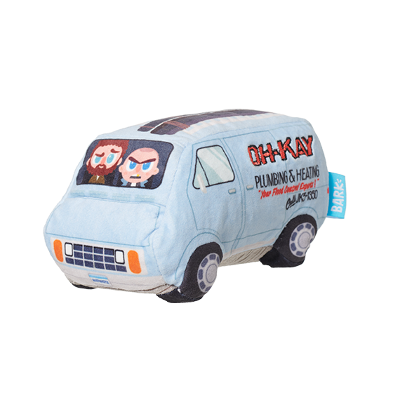 Photograph of BarkBox's Oh-Kay Van product