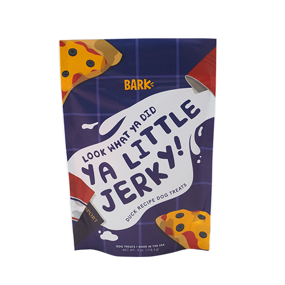 Photograph of BarkBox's Ya Little Jerky! product