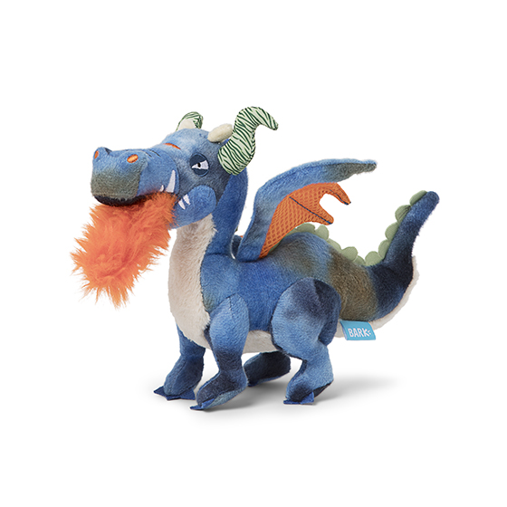 Photograph of BarkBox's Sherwyn the Dragon product