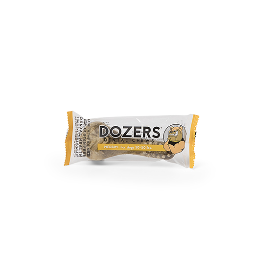 Photograph of BarkBox's Dozers Dental Chew product
