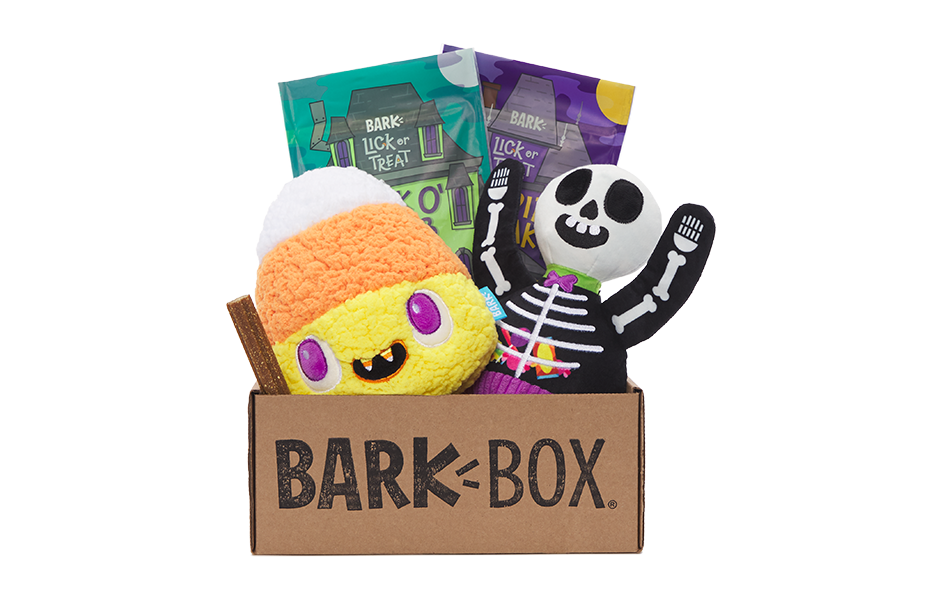 Lick or Treat themed BarkBox