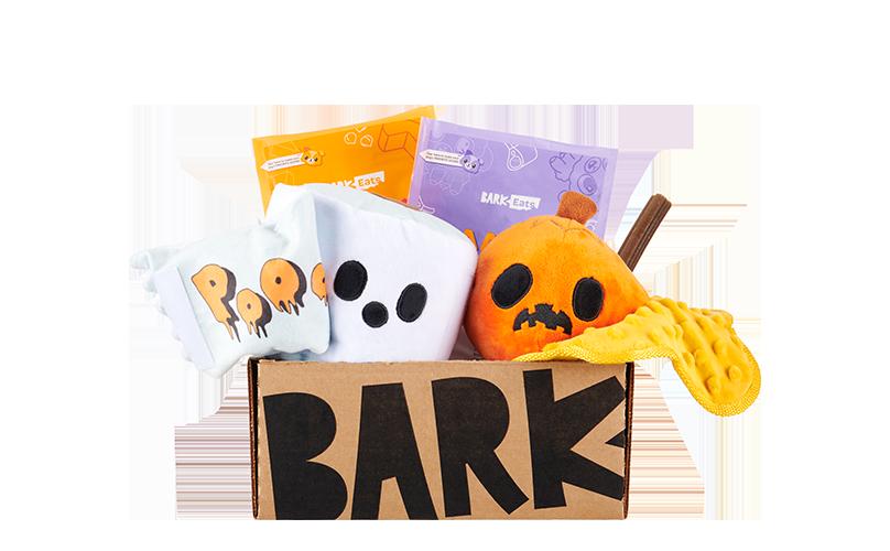 Mischief Mutts themed BarkBox
