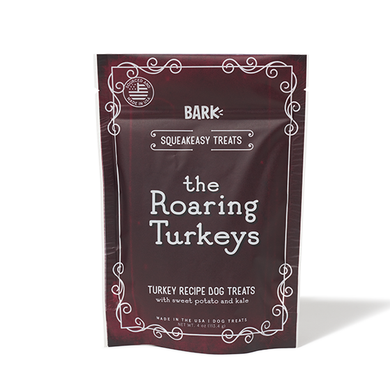 Photograph of BarkBox's The Roaring Turkeys product