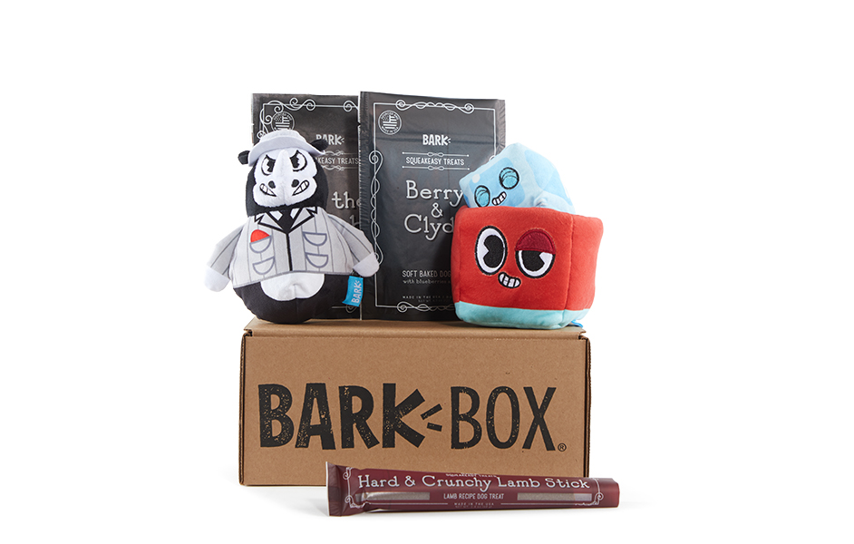 Night at the Squeakeasy themed BarkBox