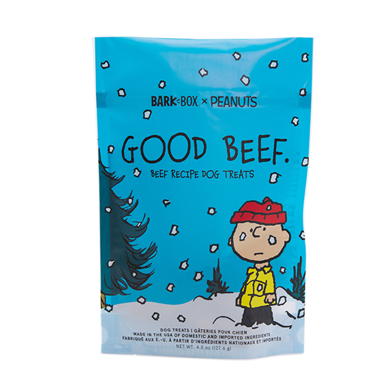 Photograph of BarkBox's Good Beef product