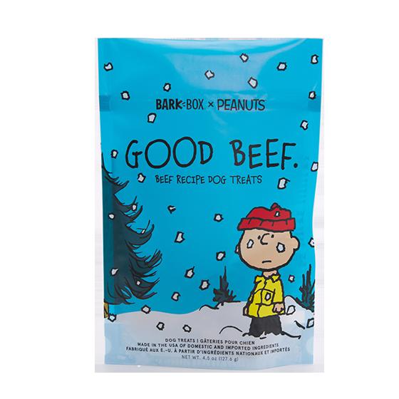 Photograph of BarkBox's Good Beef product