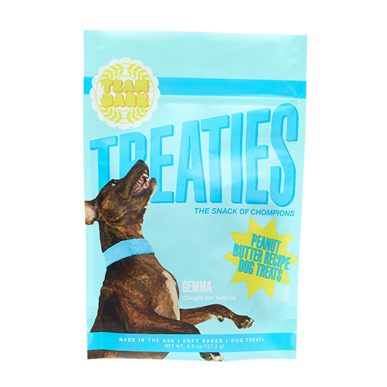 Photograph of BarkBox's Treaties: Peanut Butter Recipe Dog Treats product