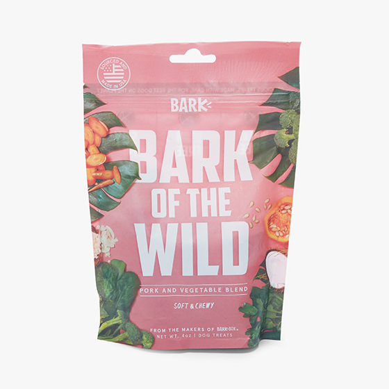 Photograph of BarkBox's BARK of the Wild Treats product