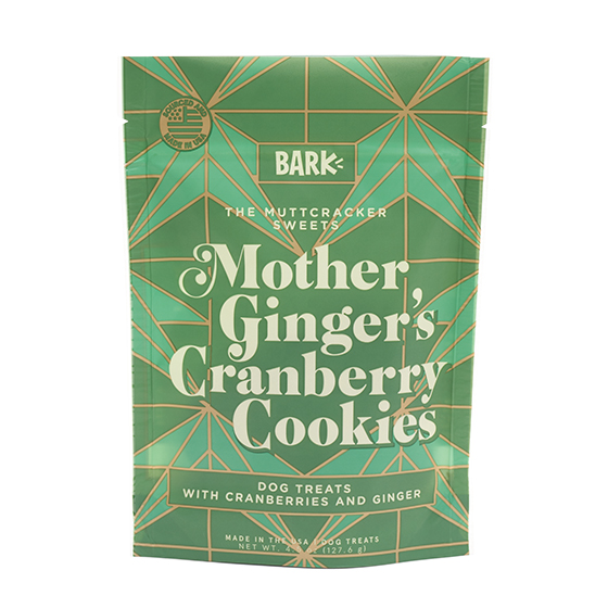Photograph of BarkBox's Mother Ginger's Cranberry Cookies  product