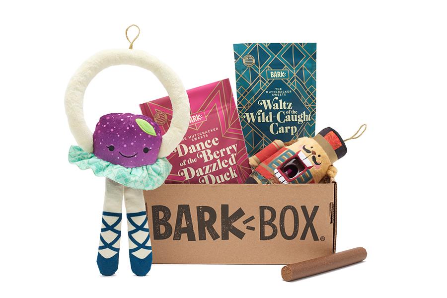 The Muttcracker themed BarkBox