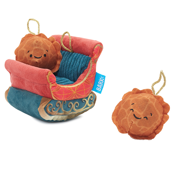 Photograph of BarkBox's Walt and Wilma's Sleigh product