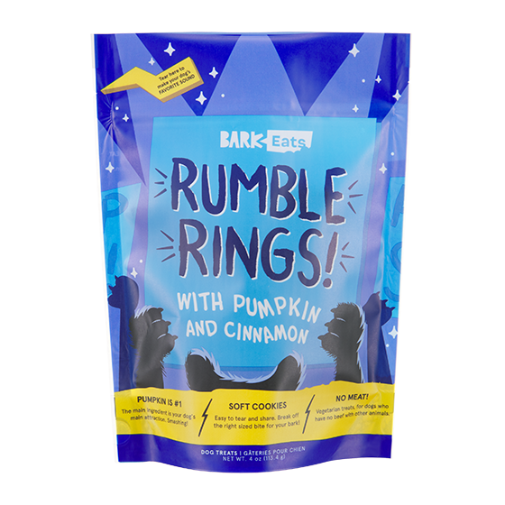 Photograph of BarkBox's RUMBLE RINGS! product